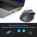 TeckNet Pro Bluetooth Draadloze Muis | 2600DPI / 5 levels - Grijs_