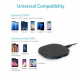 Anker wireless charger Qi | 10W Quick charge | draadloze oplader | iPhone & Samsung_