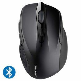 TeckNet Pro Bluetooth Draadloze Muis | 2600DPI / 5 levels - Zwart