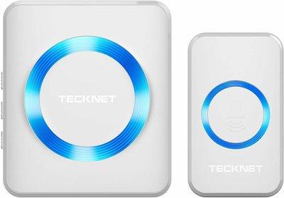 Tecknet 1 losse ontvanger - wit LET OP, werkt enkel in combinatie met een Tecknet deurbelset