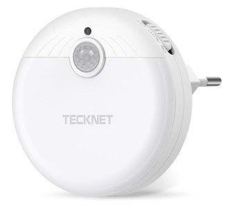 Tecknet LED SENSOR-lamp / 220V versie - Bewegingssensor - Ledlamp - Binnen Lamp - Nachtlamp - Nachtlampje - Werkt op 220V netstroom - Wit
