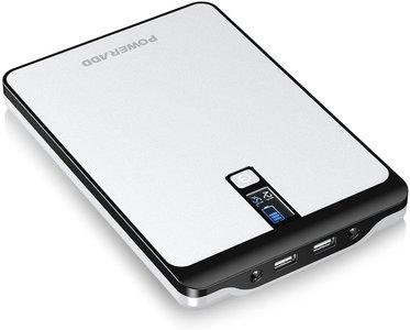 Laptop powerbank - Poweradd Pilot Pro2 23000mAh Multi-Voltage (9V 12V 16V 19V 20V) Draagbare oplader - Power Bank met Smart LCD Digitaal Display - Compatibel voor Tablet, Notebooks, Laptops, Smart Phones en Meer